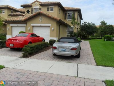 Parkland Condo/Townhouse Backup Contract-Call LA: 8081 NW 127th Ln #2-C