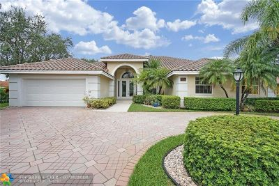Parkland Single Family Home For Sale: 6040 NW 96th Way