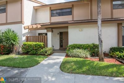 Coconut Creek Condo/Townhouse For Sale: 4705 NW 30th St #4705...9