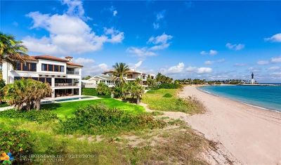 Pompano Beach FL Single Family Home For Sale: $7,995,000