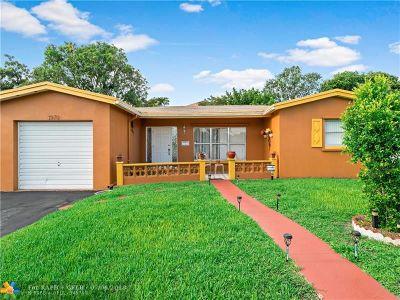 Lauderdale Lakes Single Family Home For Sale: 3970 NW 45th Av