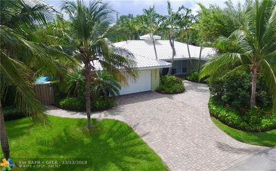 Fort Lauderdale Single Family Home For Sale: 2601 NE 27th Te