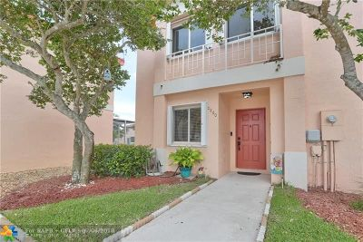 Pembroke Pines Condo/Townhouse Backup Contract-Call LA: 20860 NW 3rd Ct #20860