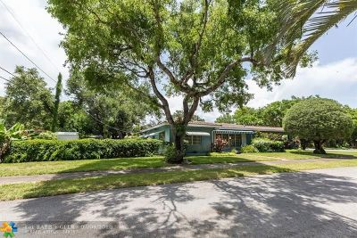 Fort Lauderdale Single Family Home For Sale: 800 SW 16th St