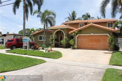 Pompano Beach Single Family Home For Sale: 631 SE 5th Ave
