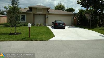 Pompano Beach Single Family Home For Sale: 1548 NE 31st Ct