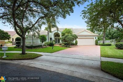 Cooper City Single Family Home For Sale: 3200 Washington Ln