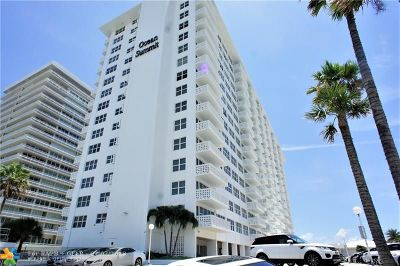 Fort Lauderdale Condo/Townhouse For Sale: 4010 Galt Ocean Dr #907