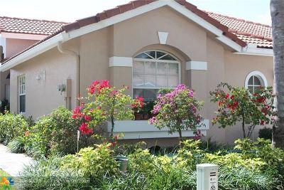 Boca Raton Condo/Townhouse For Sale: 8272 Via Bella