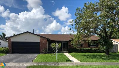 Broward County Single Family Home For Sale: 1921 NW 43rd St