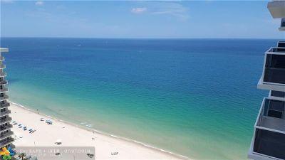 Fort Lauderdale Condo/Townhouse For Sale: 3500 Galt Ocean Dr #2215