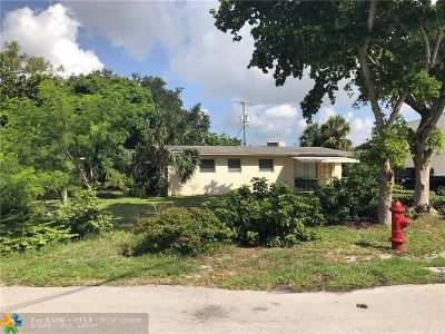 Fort Lauderdale Single Family Home Backup Contract-Call LA: 2701 SW 13th Ct