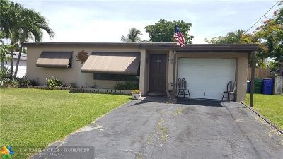 Margate Single Family Home For Sale: 6280 NW 24th Ct