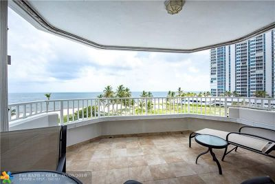 Pompano Beach Condo/Townhouse For Sale: 1340 S Ocean Blvd #408