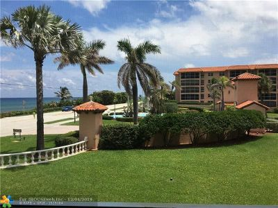 Boca Raton Condo/Townhouse For Sale: 2871 N Ocean Blvd #C201