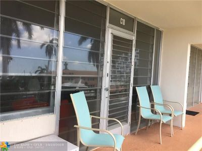 Fort Lauderdale Condo/Townhouse For Sale: 901 N Birch Rd #C10