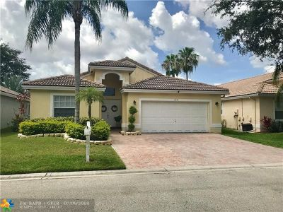 Coral Springs Single Family Home Backup Contract-Call LA: 8544 NW 46th Dr