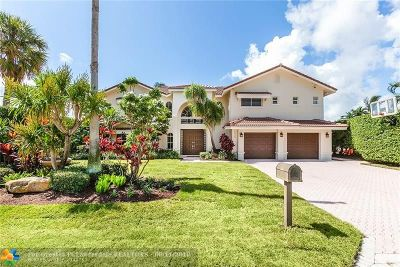 Lauderdale By The Sea Single Family Home For Sale: 1950 Water's Edge