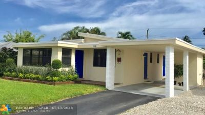Wilton Manors Single Family Home For Sale: 30 NE 26th St