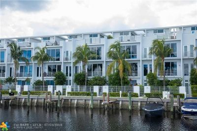 Pompano Beach Condo/Townhouse For Sale: 2741 NE 1st St #2741