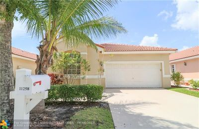 Coral Springs Single Family Home For Sale: 11258 NW 46th Dr