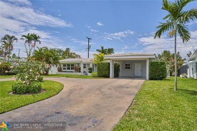 Fort Lauderdale Single Family Home For Sale: 2130 NE 54th St