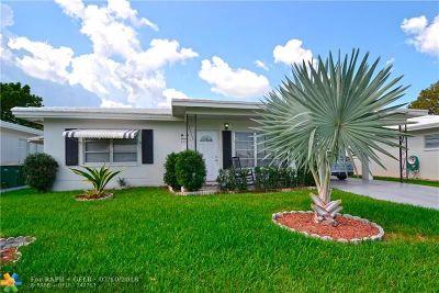Tamarac Single Family Home For Sale: 6712 NW 71 St