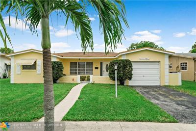 Lauderdale Lakes Single Family Home For Sale: 3951 NW 51st Ave