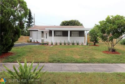 Deerfield Beach Single Family Home For Sale: 510 NW 3rd Way