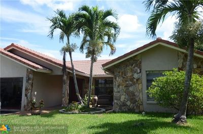Coral Springs Single Family Home For Sale: 9121 NW 49th Ct