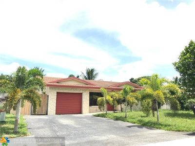 Fort Lauderdale Single Family Home For Sale: 6824 NW 33rd Ter