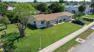 Oakland Park Single Family Home Backup Contract-Call LA: 4010 8th Ter