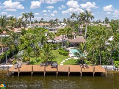 Fort Lauderdale Single Family Home For Sale: 430 Isle Of Palms Dr
