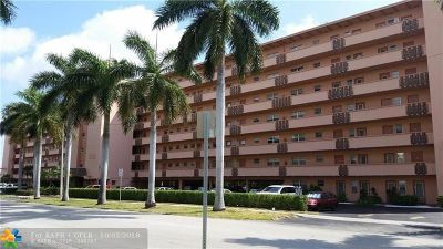 Hallandale Condo/Townhouse For Sale: 1000 NE 14th Ave #402