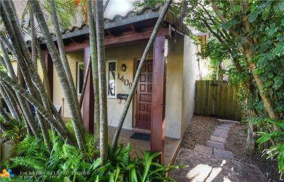 Fort Lauderdale Multi Family Home For Sale: 1409 NE 1st Ave