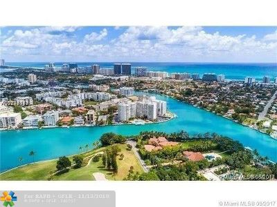 Bay Harbor Islands Condo/Townhouse For Sale: 9102 W Bay Harbor Dr #5 B