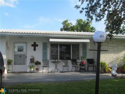 Plantation Single Family Home For Sale: 8212 NW 13th St