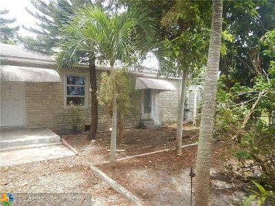 Broward County Single Family Home For Sale: 2119 Garfield St