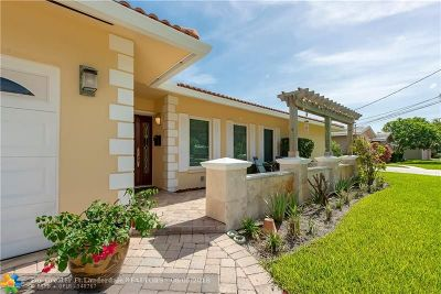 Wilton Manors Single Family Home For Sale: 1009 NW 30th St