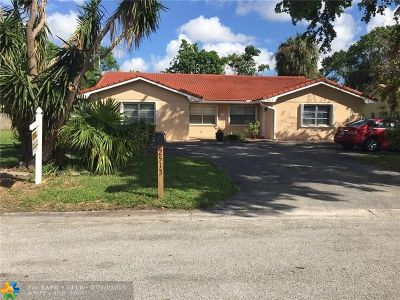 Coral Springs Multi Family Home Backup Contract-Call LA: 2513 NW 82nd Ter