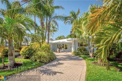 Lauderdale By The Sea Single Family Home For Sale: 275 Hibiscus Ave