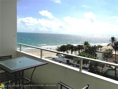 Condo/Townhouse For Sale: 4040 Galt Ocean Dr #418