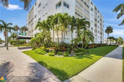 Lake Worth Condo/Townhouse For Sale: 1 N Golfview Rd #101