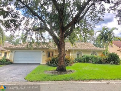 Coral Springs Single Family Home For Sale: 4866 NW 104th Ln