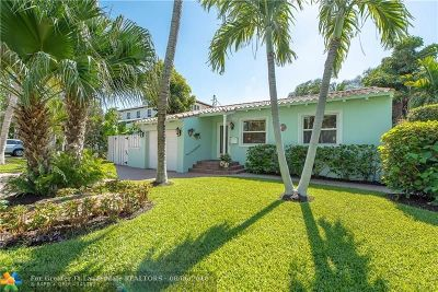 Fort Lauderdale Single Family Home For Sale: 538 NE 13th Ave