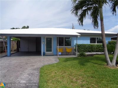 Broward County Single Family Home For Sale: 4710 NE 2nd Ave