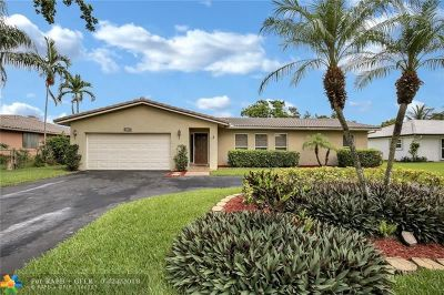 Coral Springs Single Family Home For Sale: 8195 NW 2nd Mnr