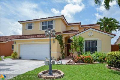 Margate Single Family Home For Sale: 6728 Buena Vista Dr