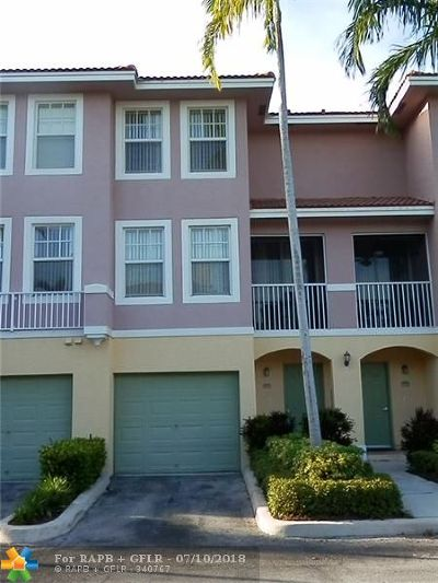Coral Springs Condo/Townhouse For Sale: 6430 W Sample Rd #6430