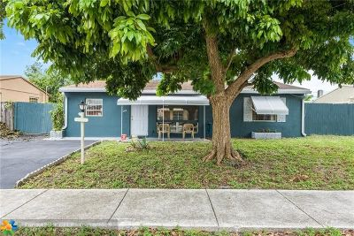 Fort Lauderdale FL Single Family Home For Sale: $249,000